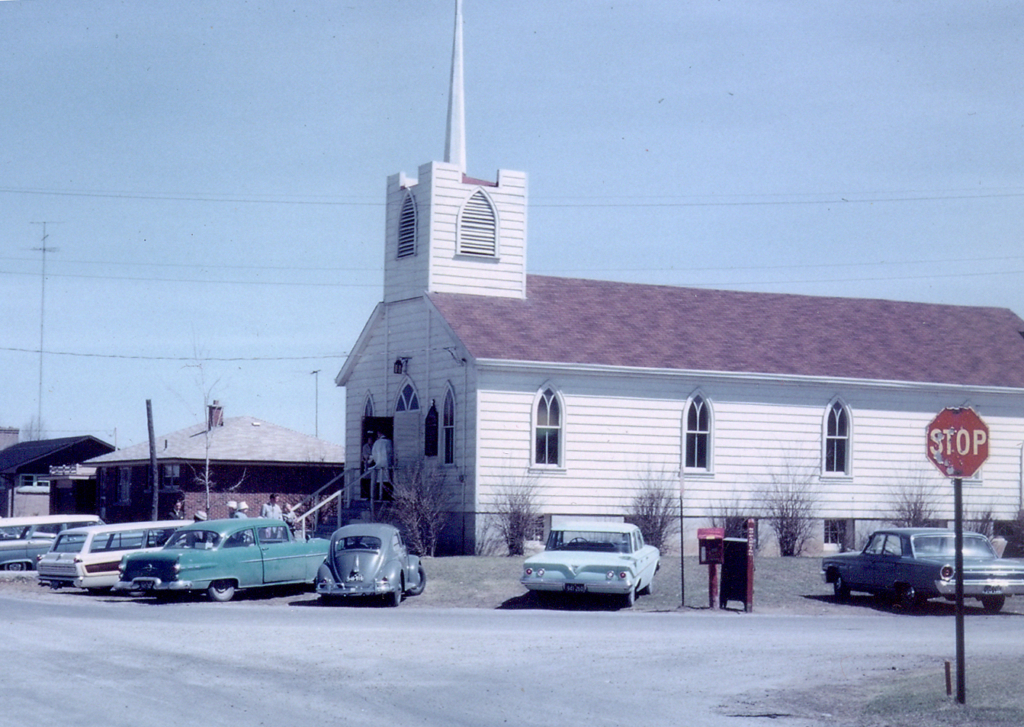 Picture of St. Mark's 1953